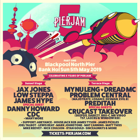 PierJam 5th Birthday Part One, North Pier, Blackpool Sun 5 May 2019