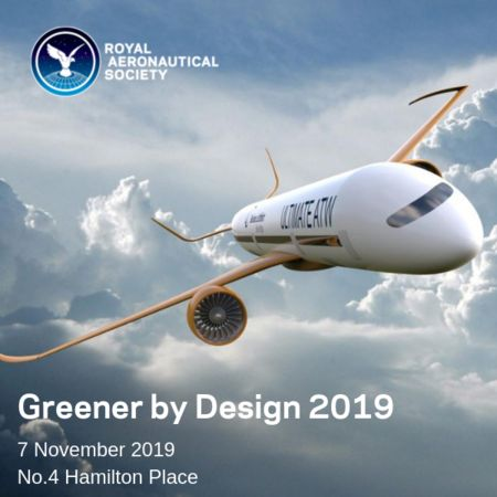 Greener by Design Conference 2019 RAeS in London - Thursday 7 November