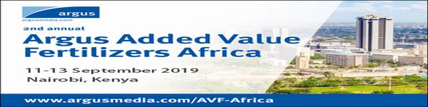 Argus Added Value Fertilizers Africa 2019