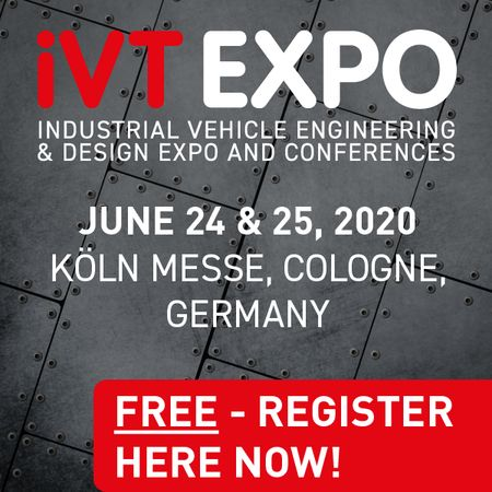 Industrial Vehicle Technology Exhibition in Cologne, Germany - June 2020