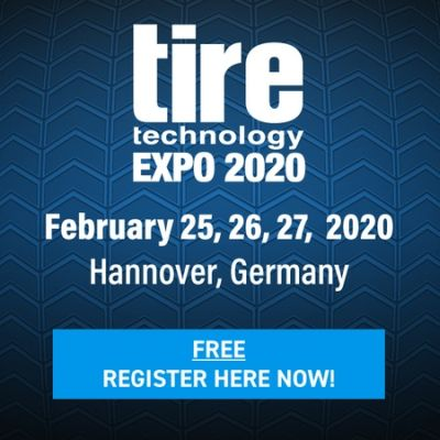 Tire Technology Expo 2020 - Hannover, Germany - February 25, 26, 27