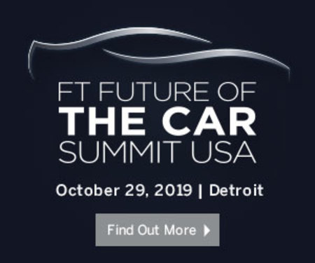 Financial Times Future of the Car Summit USA 2019