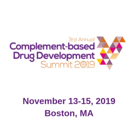 3rd Complement-based Drug Development Summit 2019