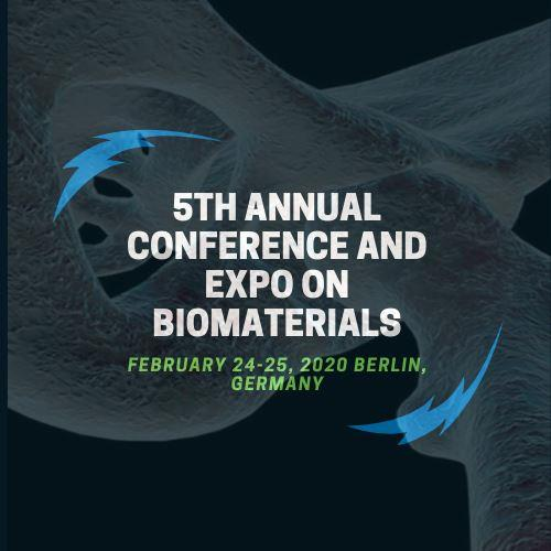 5th Annual Conference & Expo on Biomaterials