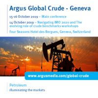 Argus Global Crude - Geneva Summit, Four Seasons Hotel, Switzerland