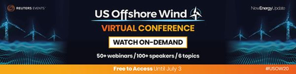 US Offshore Wind 2020 Virtual Conference (Reuters Events) Now available to watch on-demand