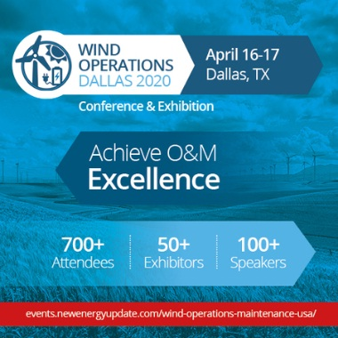 Wind Operations Dallas 2020 (April 16-17 TX) O&M, Asset Management, Storage