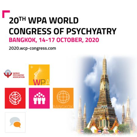 WCP 2020 - 20th WPA World Congress of Psychiatry