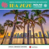IBA Annual Conference 2020 - Miami, November 2020