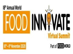 18th Annual World Food Innovate Virtual Summit (10th - 11th November, 2020)