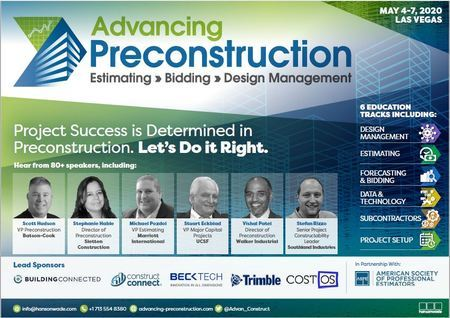 Advancing Preconstruction 2020