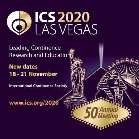 ICS 2020: 50th Annual Meeting of the International Continence Society