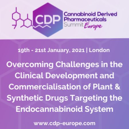 Cannabinoid Derived Pharmaceuticals Summit Europe