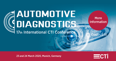 17th International CTI Conference Automotive Diagnostics - March 2020