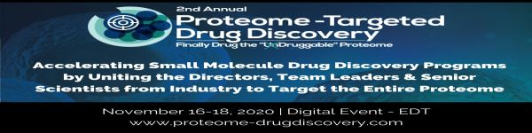 2nd Proteome- Targeted Drug Discovery Summit - Digital Event!