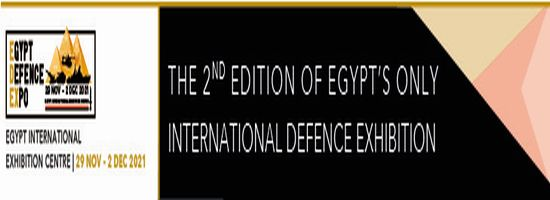 Egypt Defence Expo (EDEX), 29 Nov - 2 Dec 2021, Cairo Egypt