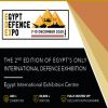 Egypt Defence Expo (EDEX), 7-10 December 2020, Cairo Egypt