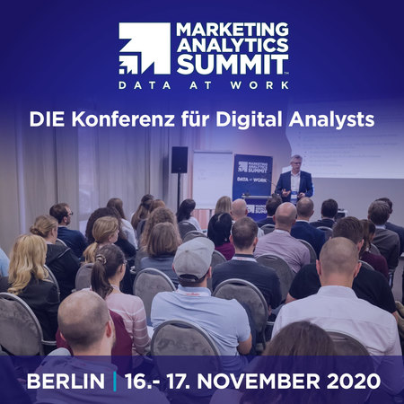 Marketing Analytics Summit Berlin 2020