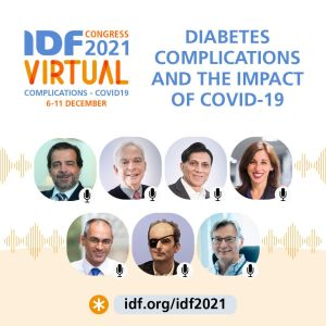 IDF virtual Congress 2021 on complications and Covid-19 6-11 December 2021