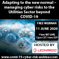Adapting to the new normal – managing cyber risks to the Utilities Sector beyond COVID-19 Webinar