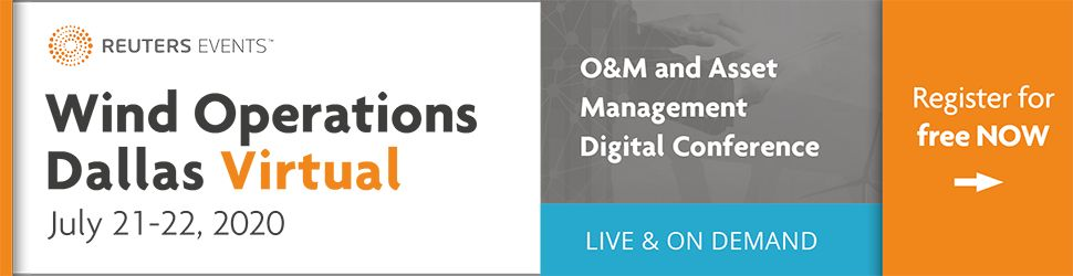 Wind Operations Dallas VIRTUAL 2020 (July 21-22) O and M, Asset Management