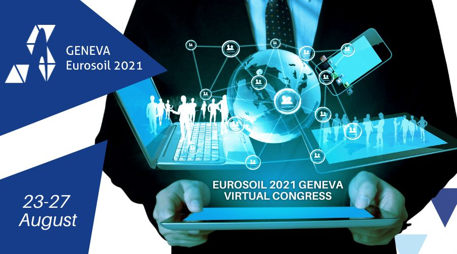 Eurosoil 2021 Geneva Virtual Congress | 23-27 August 2021 | Online