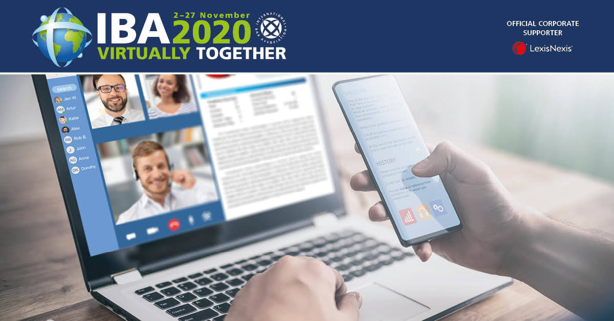 IBA 2020 - Virtually Together Conference