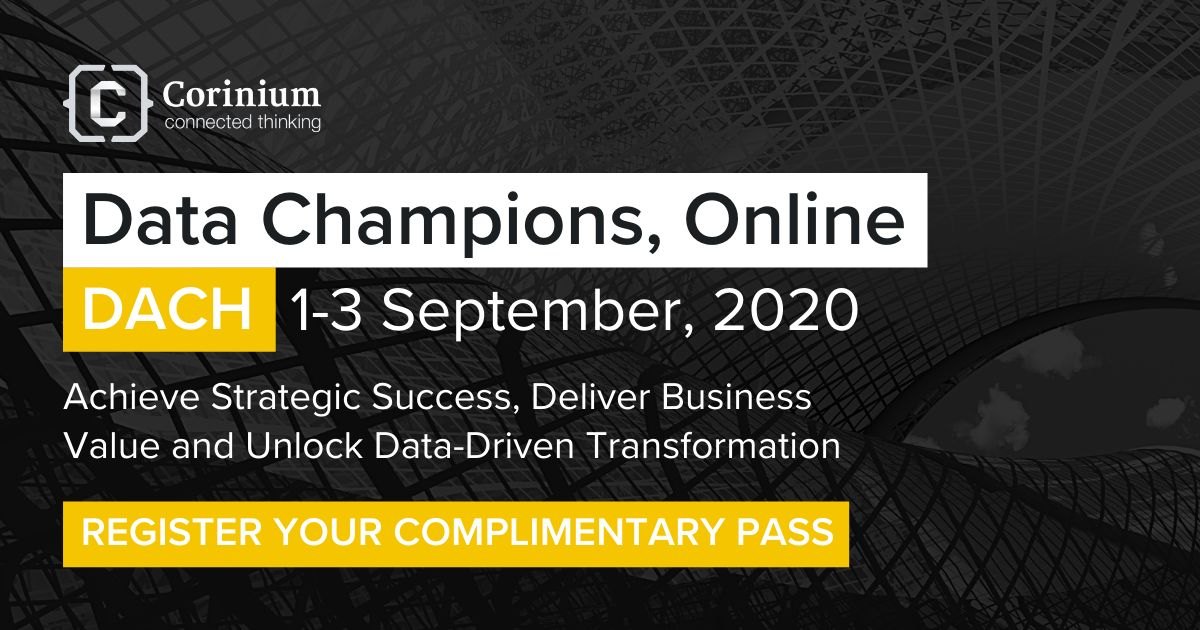 Data Champions, Online - DACH | 1-3 September, 2020