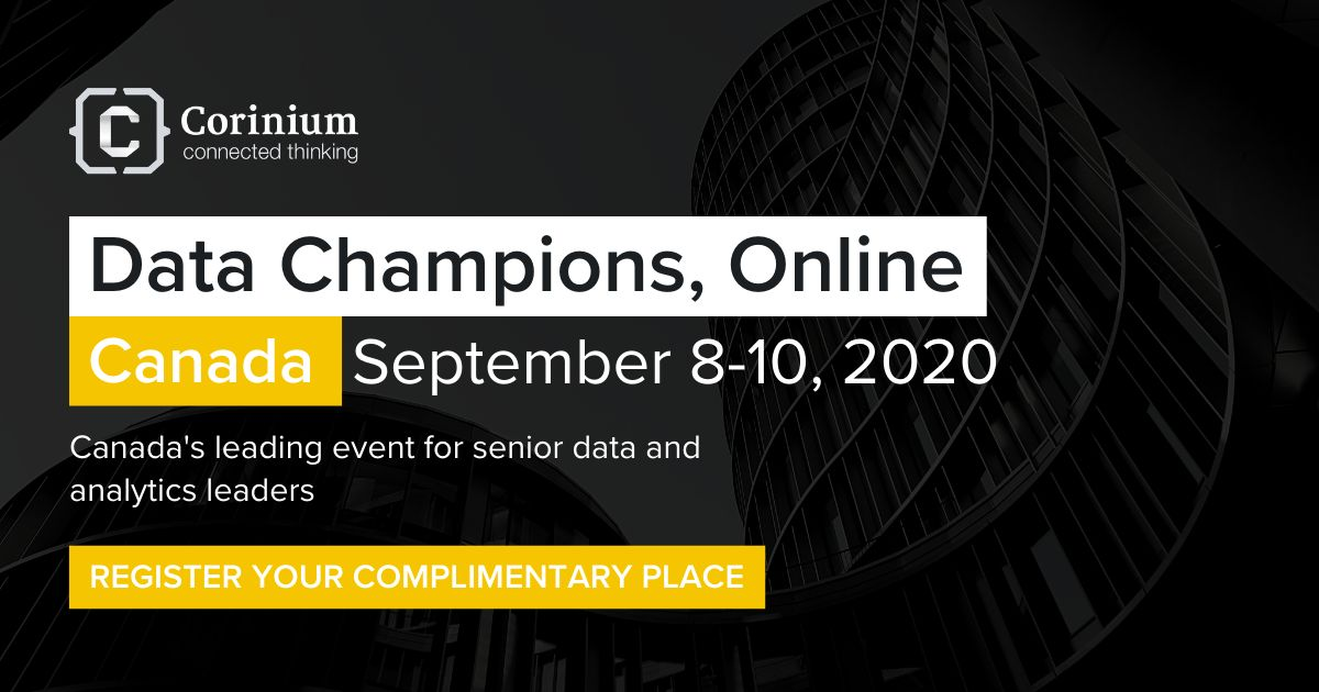 Data Champions, Online - Canada | September 8-10, 2020