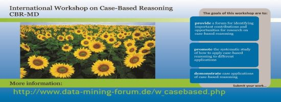 International Workshop Case-Based Reasoning CBR-MD 2021