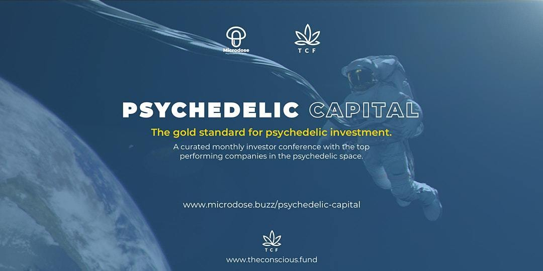 Psychedelic Capital Sept - The gold standard for psychedelic investment