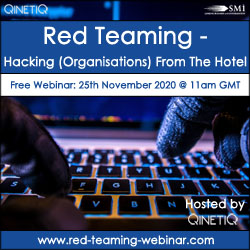 Red Teaming – Hacking (Organisations) From The Hotel [FREE WEBINAR]