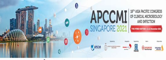 APCCMI Singapore 2021 - 18th Asia Pacific Congress of Clinical Microbiology and Infection
