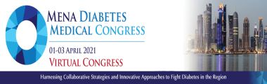 MENA Diabetes Medical Congress - 01 April 2021 - Virtual