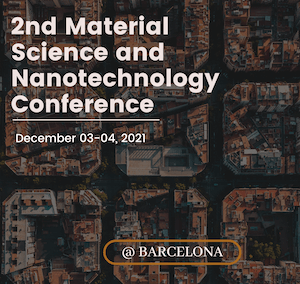 2nd Plenareno Materials Science and Nanotechnology Conference