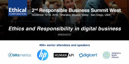 2nd Responsible Business Summit West 2018