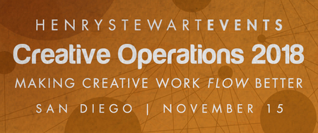 Creative Operations Conference San Diego 2018