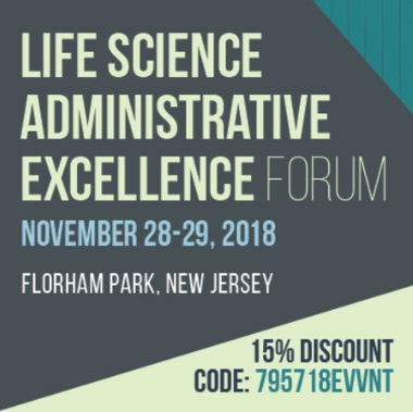 Life Science Administrative Excellence Forum