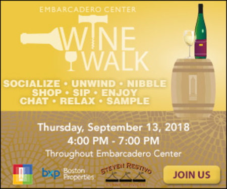 Embarcadero Center Wine Walk