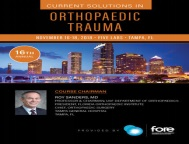 16th Annual Current Solutions on Orthopaedic Trauma