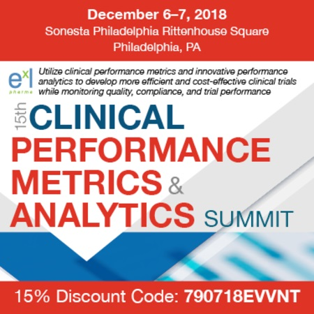 15th Clinical Performance Metrics and Analytics Summit