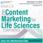 7th Content Marketing for Life Sciences Conference