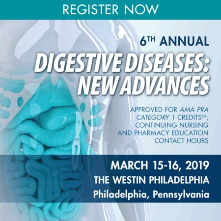 6th Annual Digestive Diseases: New Advances