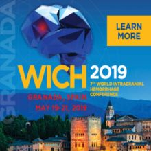 7th World IntraCranial Hemorrhage Conference WICH 2019