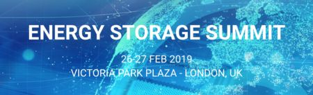 Energy Storage Summit Conference in London - 26-27 February 2019