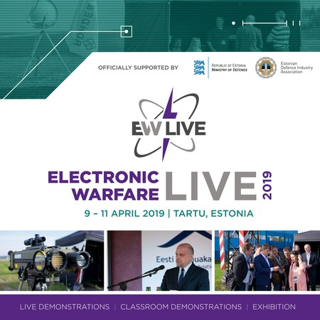 Electronic Warfare LIVE 2019 | 9 - 11 April 2019 | Tartu, Estonia