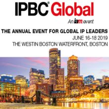 IPBC Global 2019, 16-18 June 2019, Boston USA