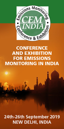 CEM India Emission Monitoring 24-26th September 2019 Delhi India