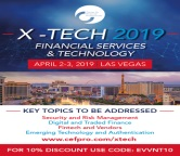 X-Tech 2019: Financial Services and Technology | Convention | Vegas | April 2
