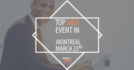 One-to-One MBA Event in Montreal, 2019